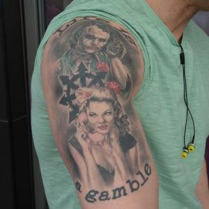 Tatuering: Lasse Sjöroos