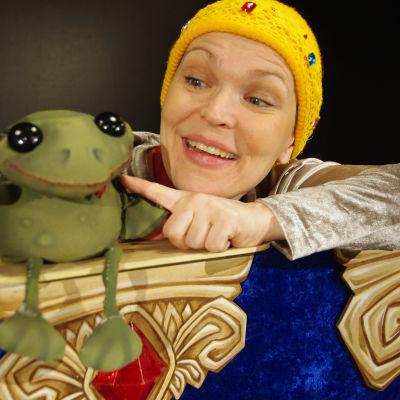 Foto från Leopold Prinshjärta med Teater Taimine.