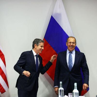 Antony Blinken ja Sergei Lavrov