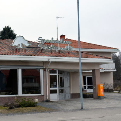 Ekenäs sparbanks filial i Österby.