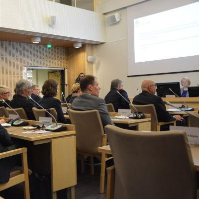 Kommunfullmäktige i Korsholm.