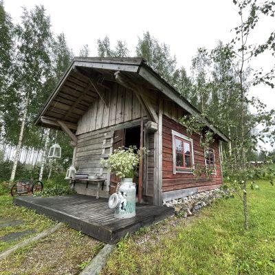 Savusauna Vieremällä Pohjois-Savossa