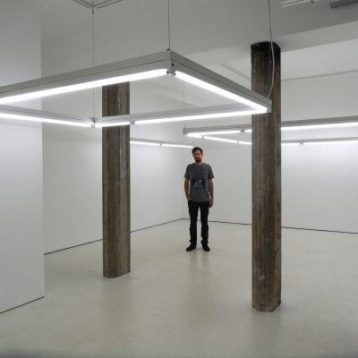 Hans Rosenström på Helsinki Contemporary sommaren 2014