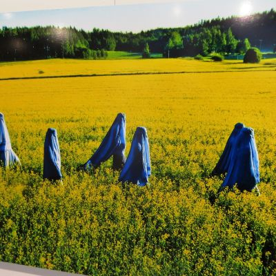 kvinnor i burka