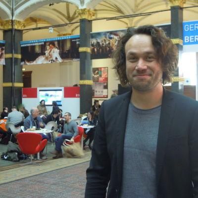 Elmer Bäck på European Film Market