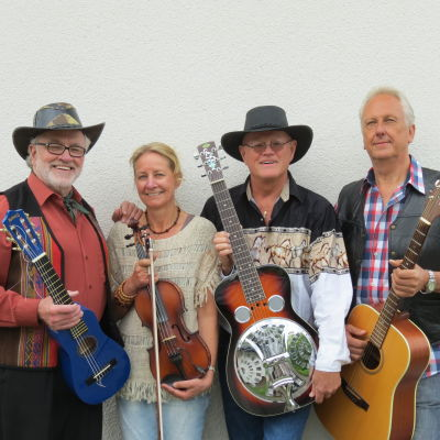 Svensk-finska countrybandet YouAndYou med Håkan Streng som solist