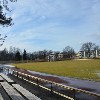 Centrumplan i Ekenäs.