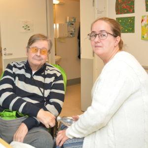 Kaj-Ingmar Winberg och Linda Winberg-Lehto.