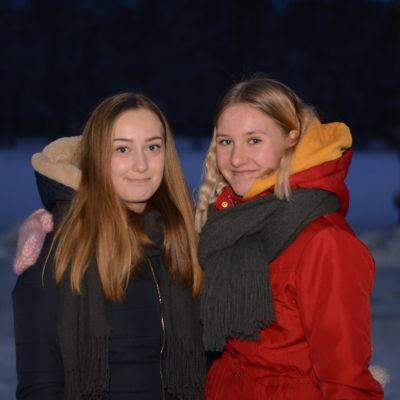 Emma Ojala och Ellinor Nordman