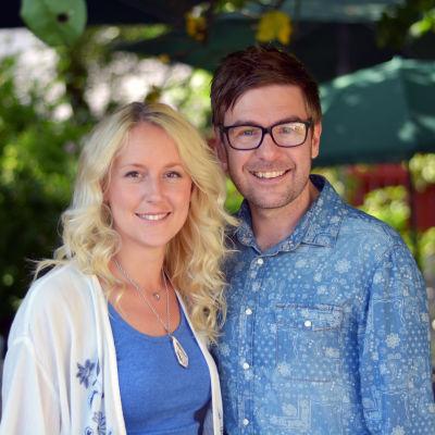 Frida Andersson och Thomas Lundin.