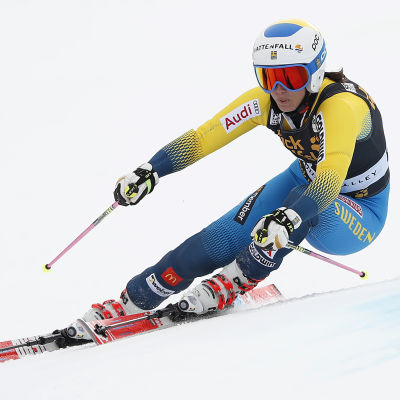 Maria Pietilä-Holmner i backen