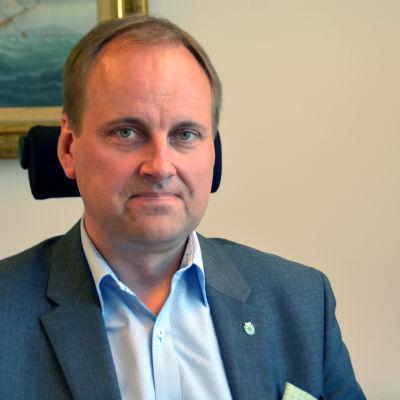 Tom Simola, stadsdirektör i Raseborg.