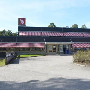 Tidningen Västra Nylands redaktion.