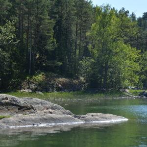 Orslandet i Ingå skärgård.