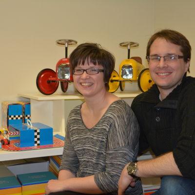 Mikaela och Julien Chaigneau