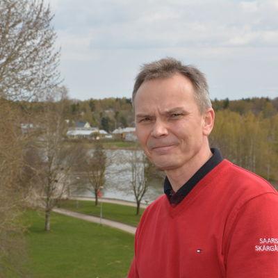 Martti Nilsson, turismombud i Pargas