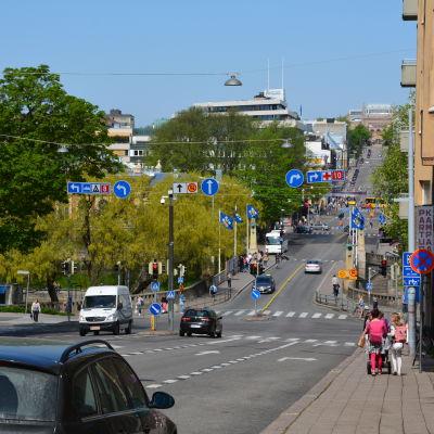 Kaskisbacken i Åbo.