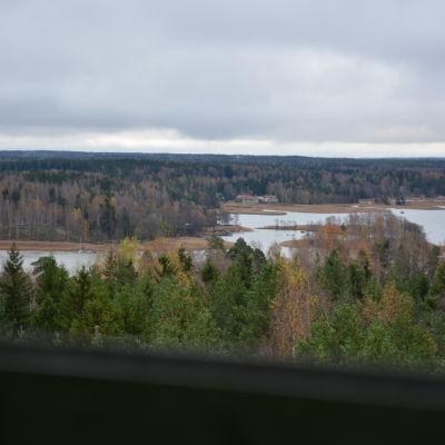 Utsikt från Hammars vattentorn