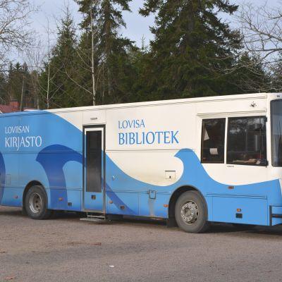 lovisa biblioteksbuss