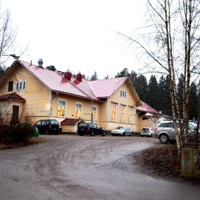 Gammelbacka skola i Borgå.