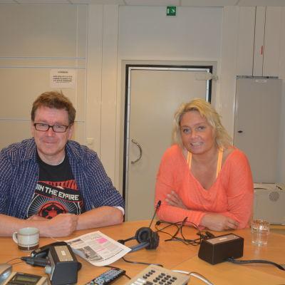 Kennet Lindholm och Ilse Klockars.