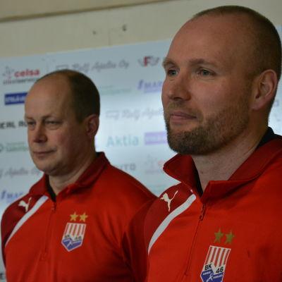 Timo Oksanen och Tedy Nordling, BK-46.