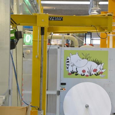 Delipap fabrik i Ekenäs