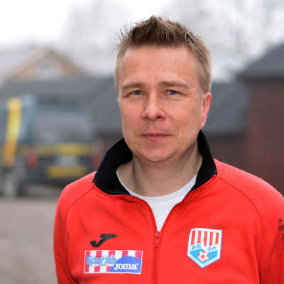 Mats Lillqvist är ordförande i fotbollssektionen i BK-46.