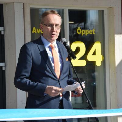 SOK:s koncernchef Taavi Heikkilä.