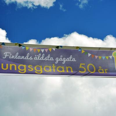 Kungsgatan i Ekenäs.
