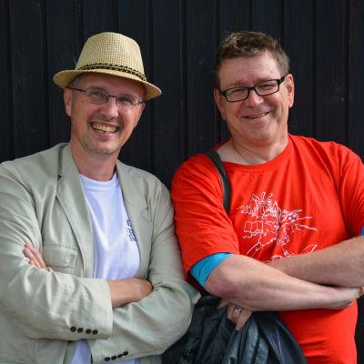 Dan Idman och Kennet Lindholm i fredagssnack 5.8.2016.