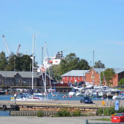 Östra hamnen i Hangö.