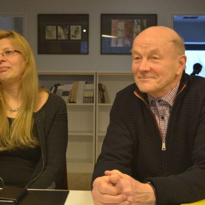 Christine Julin-Häggman och Matts Andersén