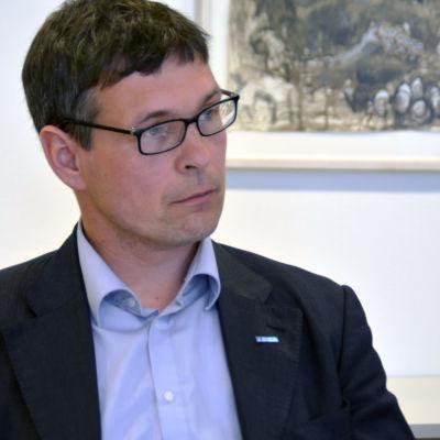 Huvudförtroendeman Jari Salminen i Raseborg.