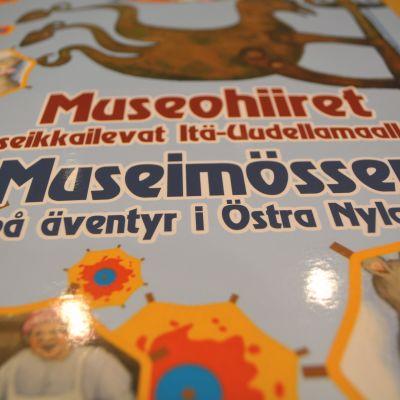 brädspelet museimössen på äventyr i östra nyland