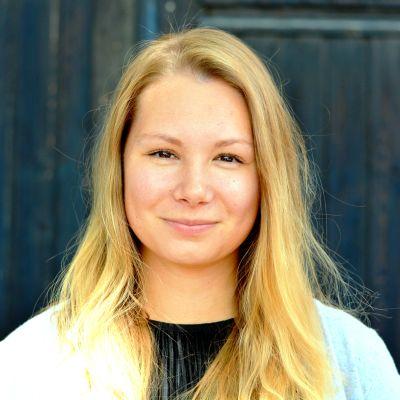 Sofia Kajander, sommarvikarie 2017-2018 vid Yle Västnyland.