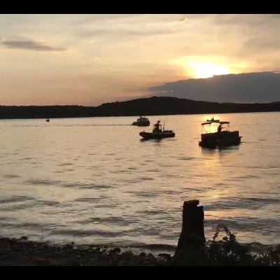 Bild från Table Rock Lake.