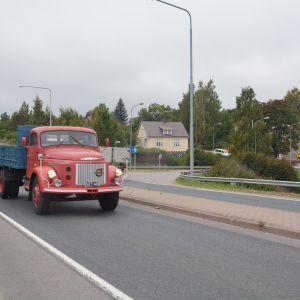 "Stig-Henrik ""Putte"" Sjöbloms lastbil från 1969."