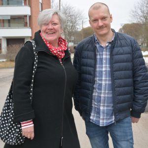 Johanna Haveri och Peter Stolpe
