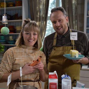 Anders och Elin i Strömsös kök