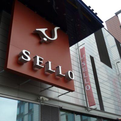 Köpcentret Sello i Alberga i Esbo.