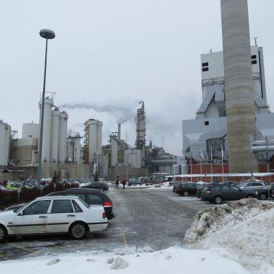 UPM:s fabrik i Jakobstad