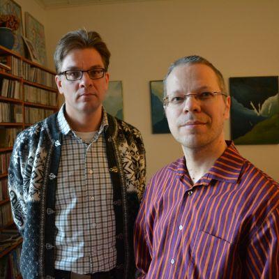 Teemu Honkanen och Mats Lillhannus är glada över att Key Ensemble tack vare understödet kan lyfta sina konstnärliga ambitioner ytterligare.