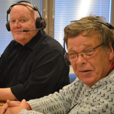Birger Blomqvist och Johannes Runeberg i Måndagssnacket