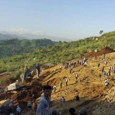 Jadekaivos Myanmarissa.