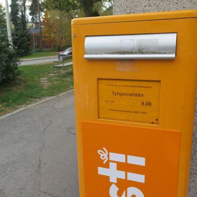 Postin kirjelaatikko