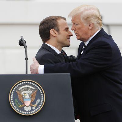 Franskt statsbesök i USA