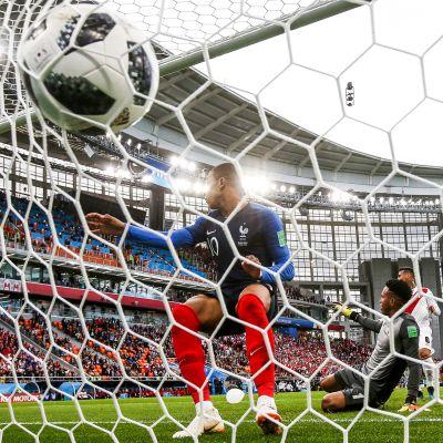 Ranska voittoon Perusta Kylian Mbappén maalilla