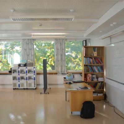 Undervisning i jopo-klass i Ekenäs.