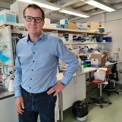 Turun yliopiston syöpäbiologian professori Jukka Westermarck